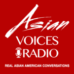 Asian Voices Radio Podcast Logo